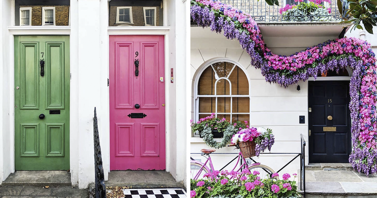 Woman Captures The Beauty Of London's Front Doors
