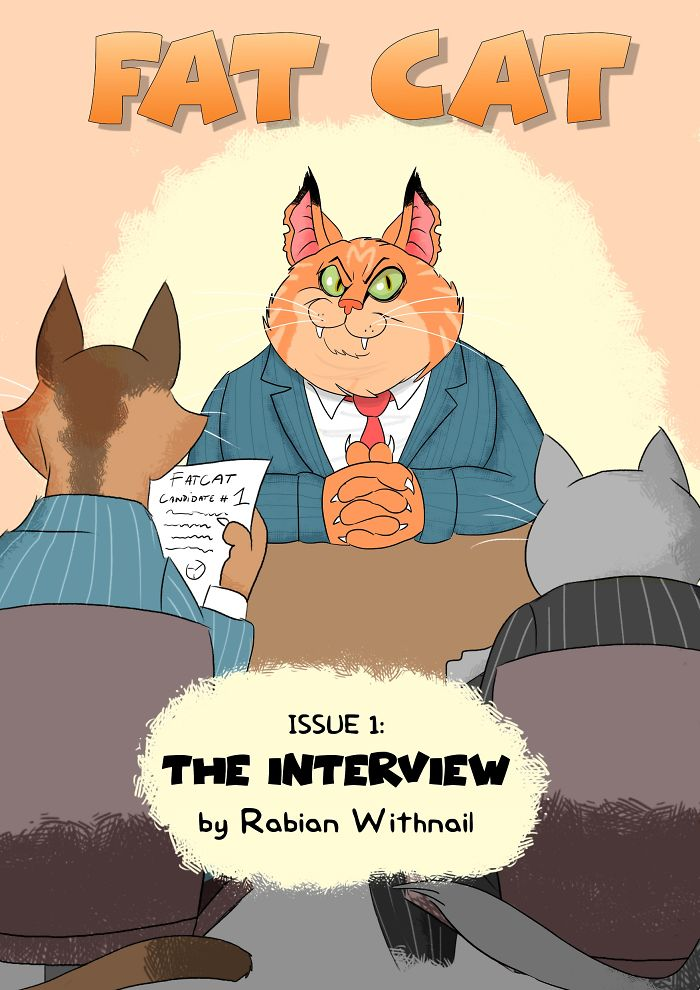 Issue 1 Of A New Webcomic 'Fat Cat'