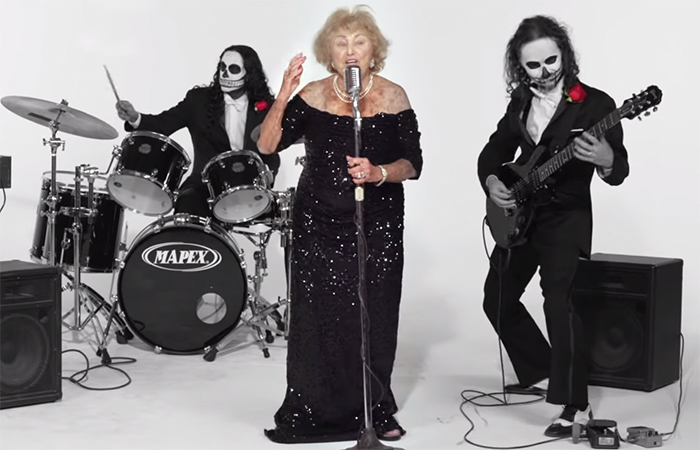 This Badass 96 Y.O. Holocaust Survivor Is Now The Lead Singer For A Death Metal Band