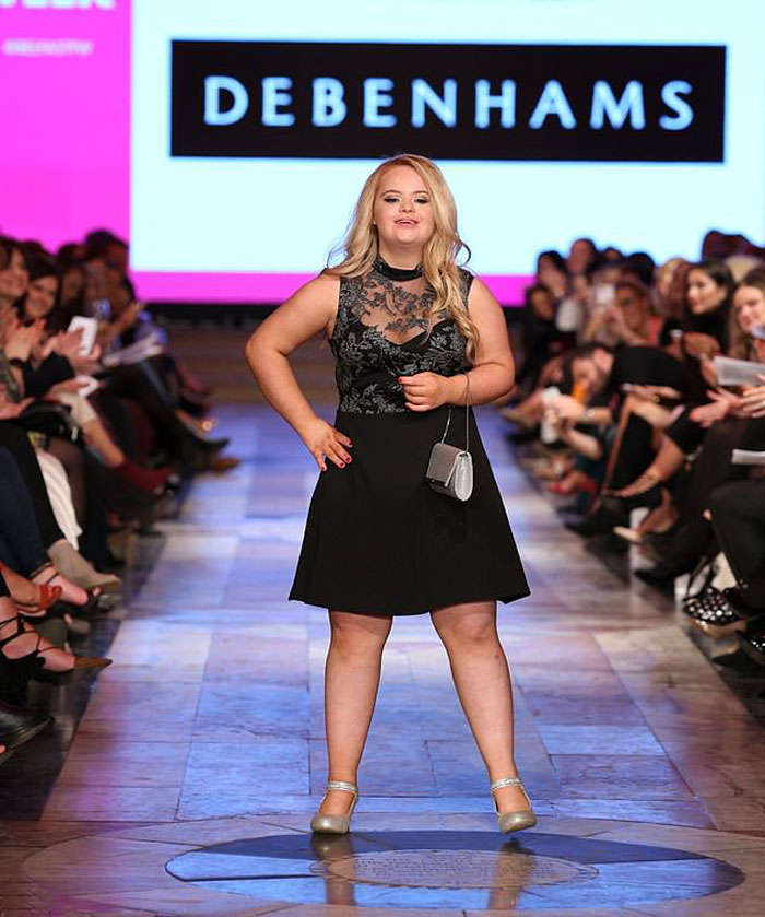 Meet This Teen With Down's Syndrome Who Has Already Signed For 5 Modeling Agencies And Has 50k Followers On Instagram