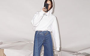 Asymmetrical Jeans Are Made For The Days When You Can't Decide Between Skinny And Flared