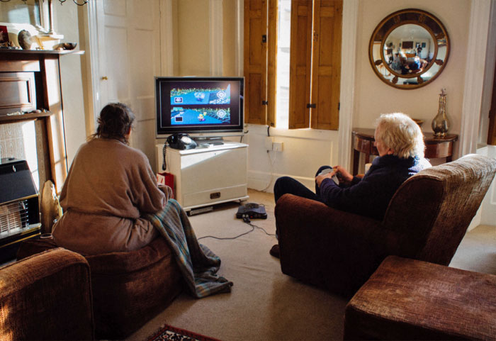 Every Day My Parents Play Mario Kart 64 To See Who Will Make A Cuppa Tea. They've Done This Religiously Since 2001