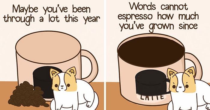 I Turned 15 Silly Food Puns Into Wholesome Comics