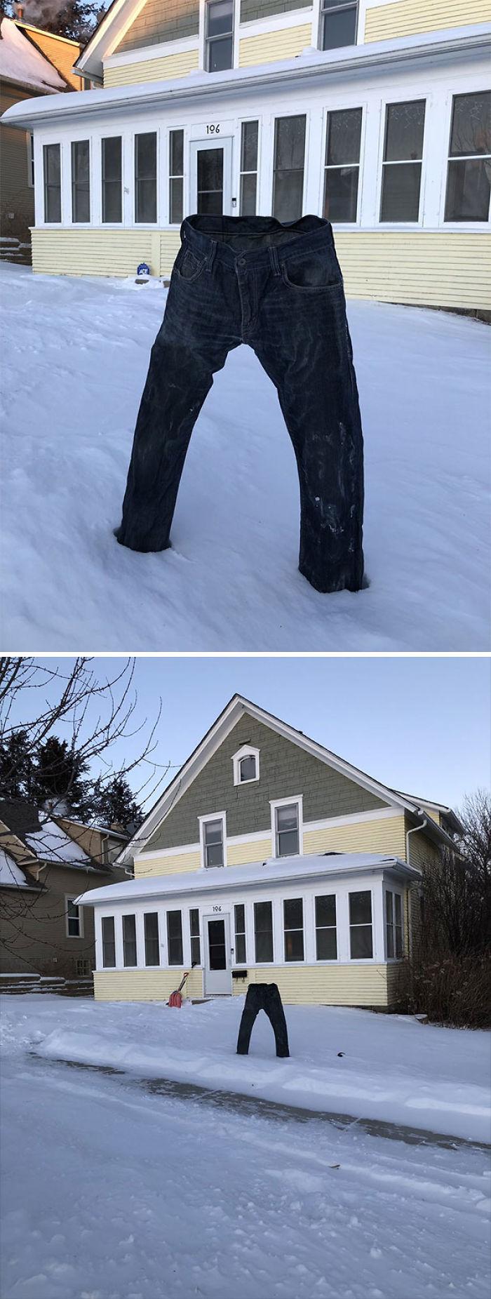 Congelando los pantalones en Minesota