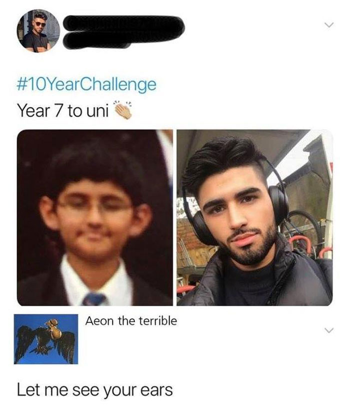 Funny-10-Year-Challenge-Memes