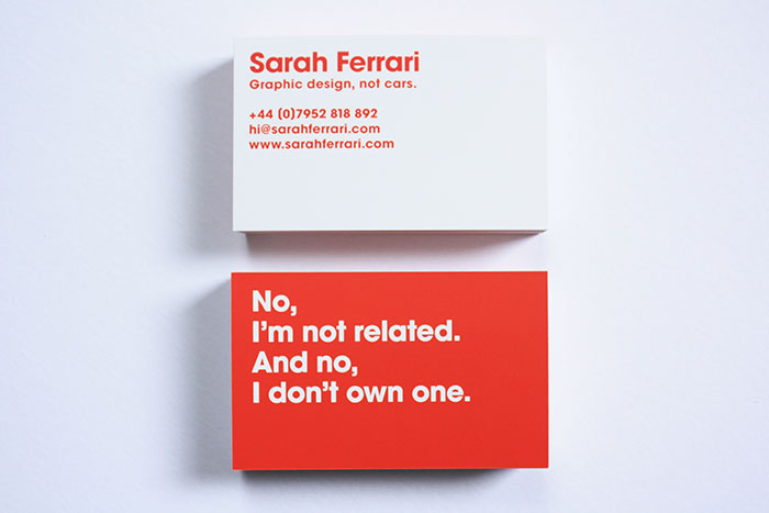 Graphic Design, Not Cars