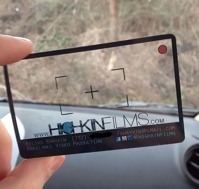 Got My New Business Cards In The Mail