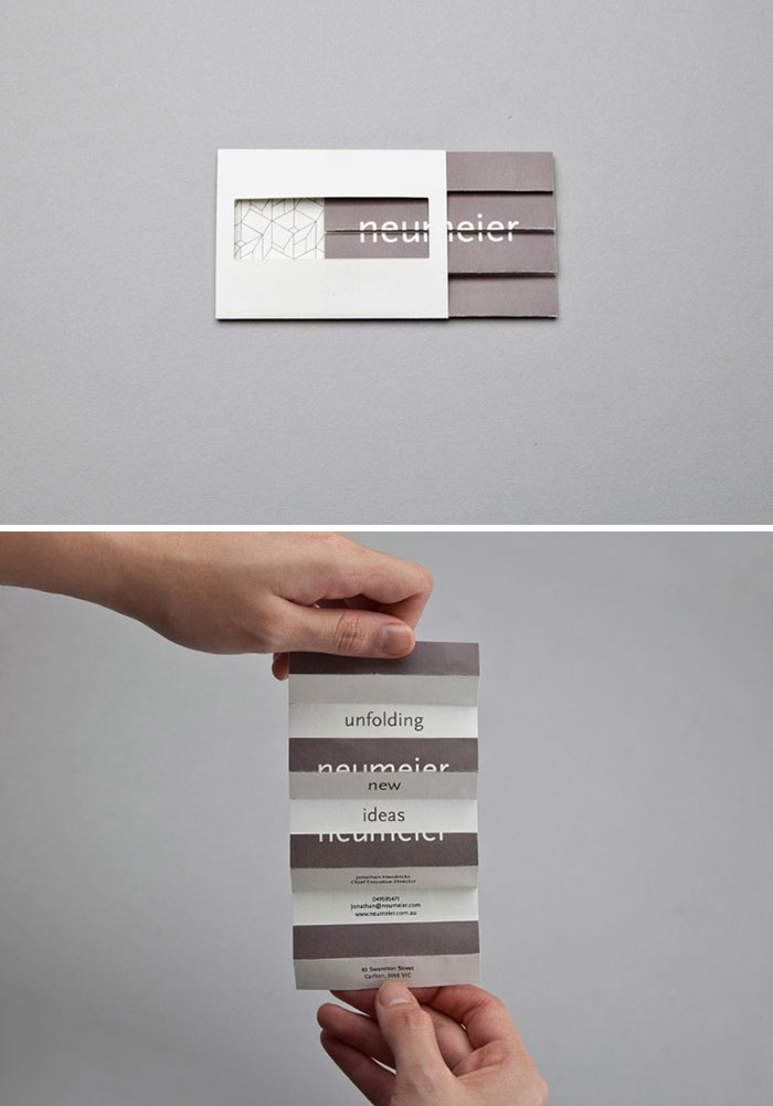 Business Cards Can Be Much More Than A Rectangle With 8,5 X 5,5 Cm