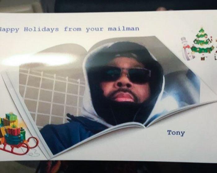 Happy Holidays From My Mailman Tony