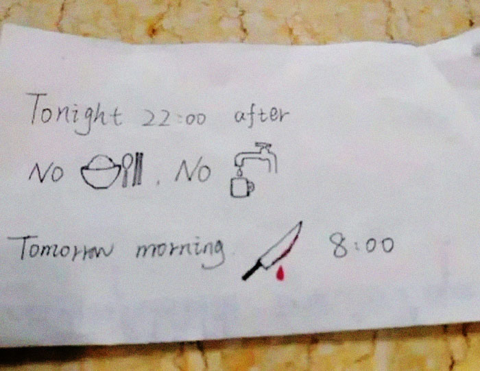 Foreign Student Hospitalized In China Gets Note From Nurse Who Doesn't Speak English, And The Comments Crack Us Up