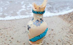 Paso los días buscando tesoros en la playa, y estas son 38 de las cosas más interesantes que he encontrado