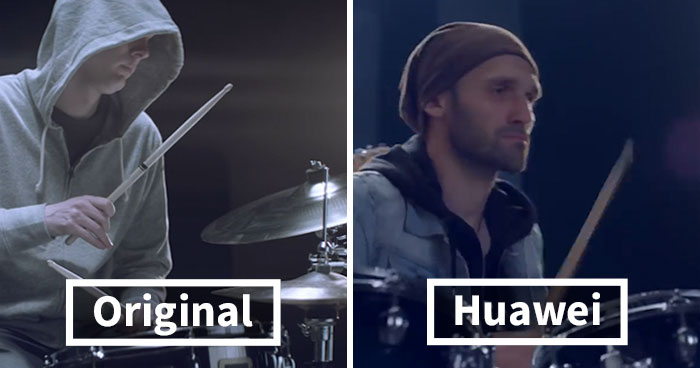 Guy Accuses Huawei Of Copying His Music Video Shot For Shot, And The Pics Speak For Themselves