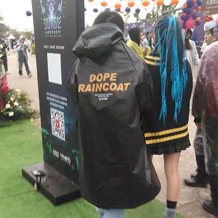 Dope Raincoat