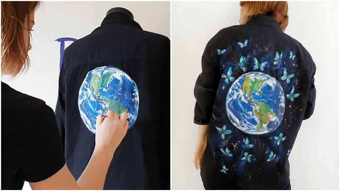 I Turned H&m Shirt Into The Piece Of Art To Spread The Message About Harmful Impact Of Fast Fashion