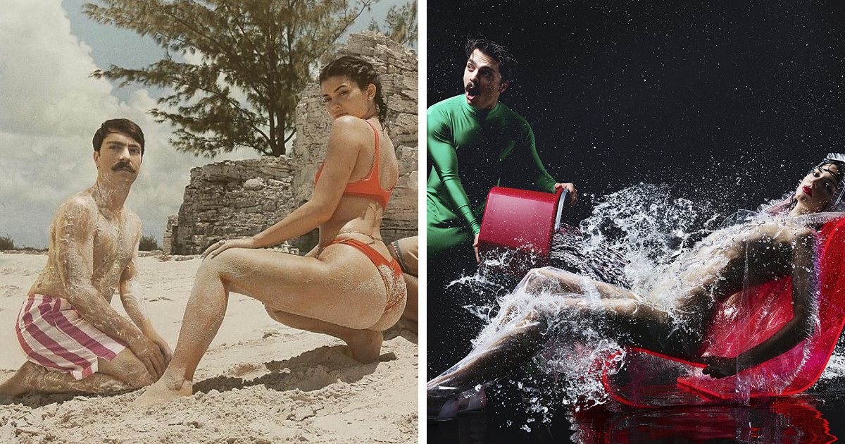 This Guy Won't Stop Photoshopping Himself Into Kendall Jenner's Photos And It Makes Them 10 Times Better