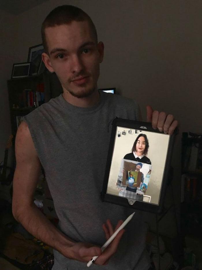 Begini Nih Potret Lukisan di Dalam Lukisan, Keren Gan!