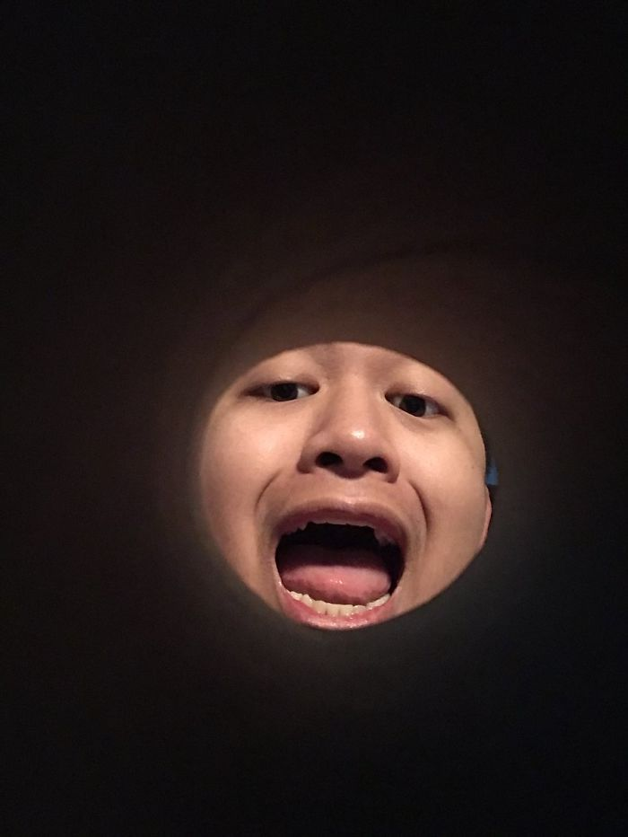 Take A Selfie Through A Toilet Paper Roll And Make Yourself The Moon