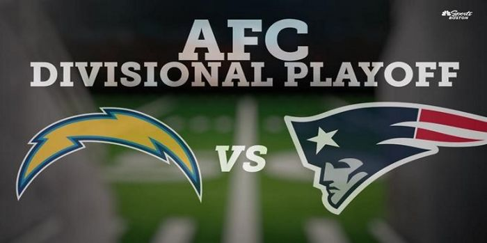 Image result for Patriots vs Chargers Live Streaming NFL Football AFC Divisional Playoff