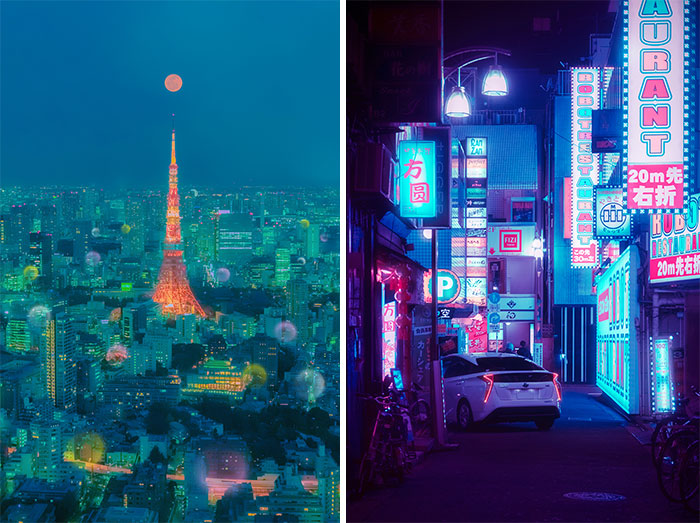 I Fulfilled My Dream Of Going To Japan And Captured The Surreal Beauty Of Tokyo At Night