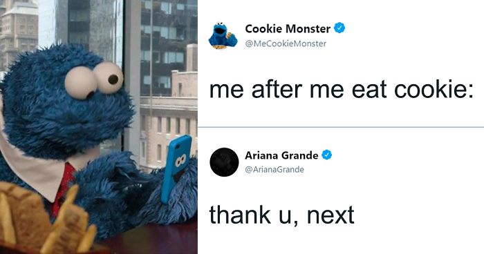 Looks Like Cookie Monster Has A Twitter Account And Here Are