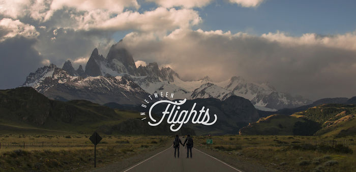 The Story In Between The Flights Of An Airline Pilot And A Film Maker