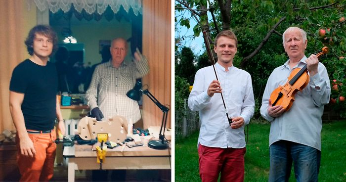 I Spent 3 Years Making A Violin With My Grandfather Without Knowing How