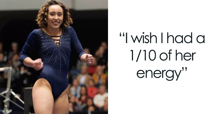 66ac99263dd0 This Gymnast Nailed Her Performance And The Internet Is Flipping Out ...