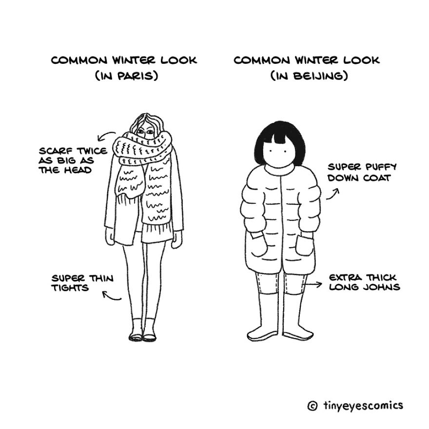 36 Comics About The Life Of A Chinese Girl Who Lives Between Cultures (Part2)