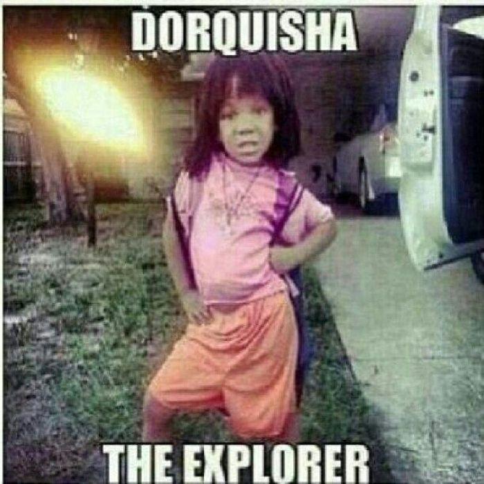 African American Dora