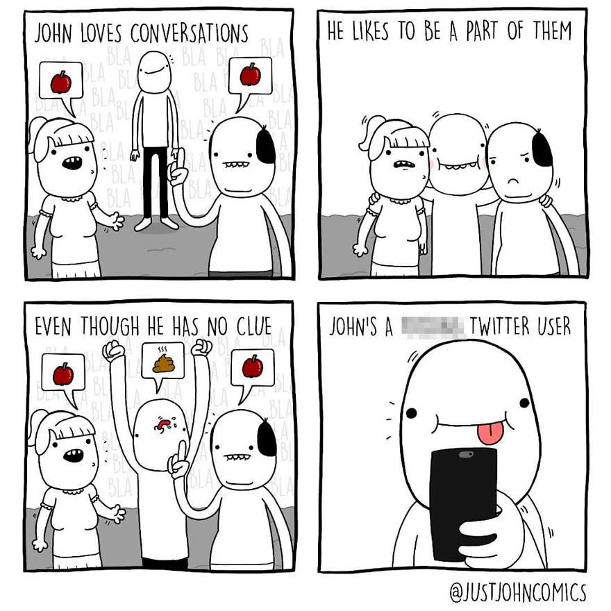 Meddling In A Conversa-John
