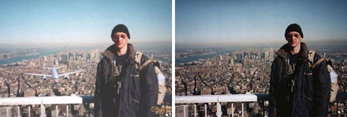 A Photo Of A Tourist Taken Moments Before 9/11