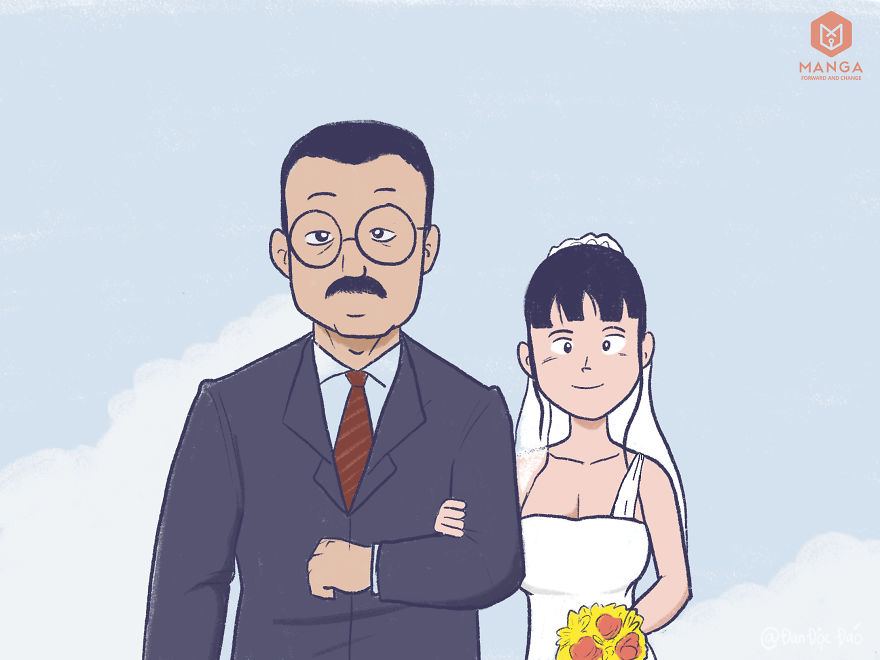 My Comics Based On The Tragic Story Of A Girl Who Can No Longer Be A Bride Because This Person Didn't Drive Safely