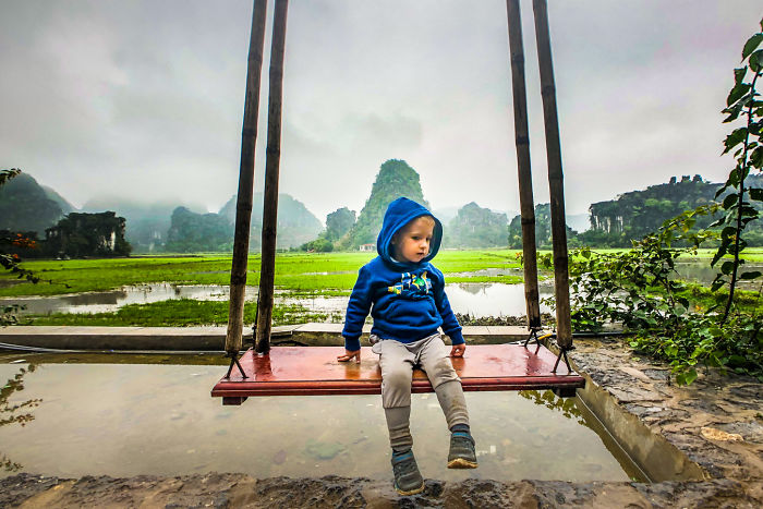 This Toddler Visited 24 Countries Before Turning 3 Years Old