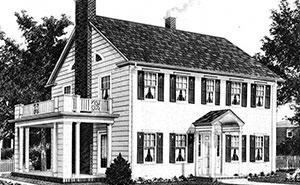 La gente solía encargar casas por catálogo a principios del siglo XX, y algunas siguen en pie hoy en día