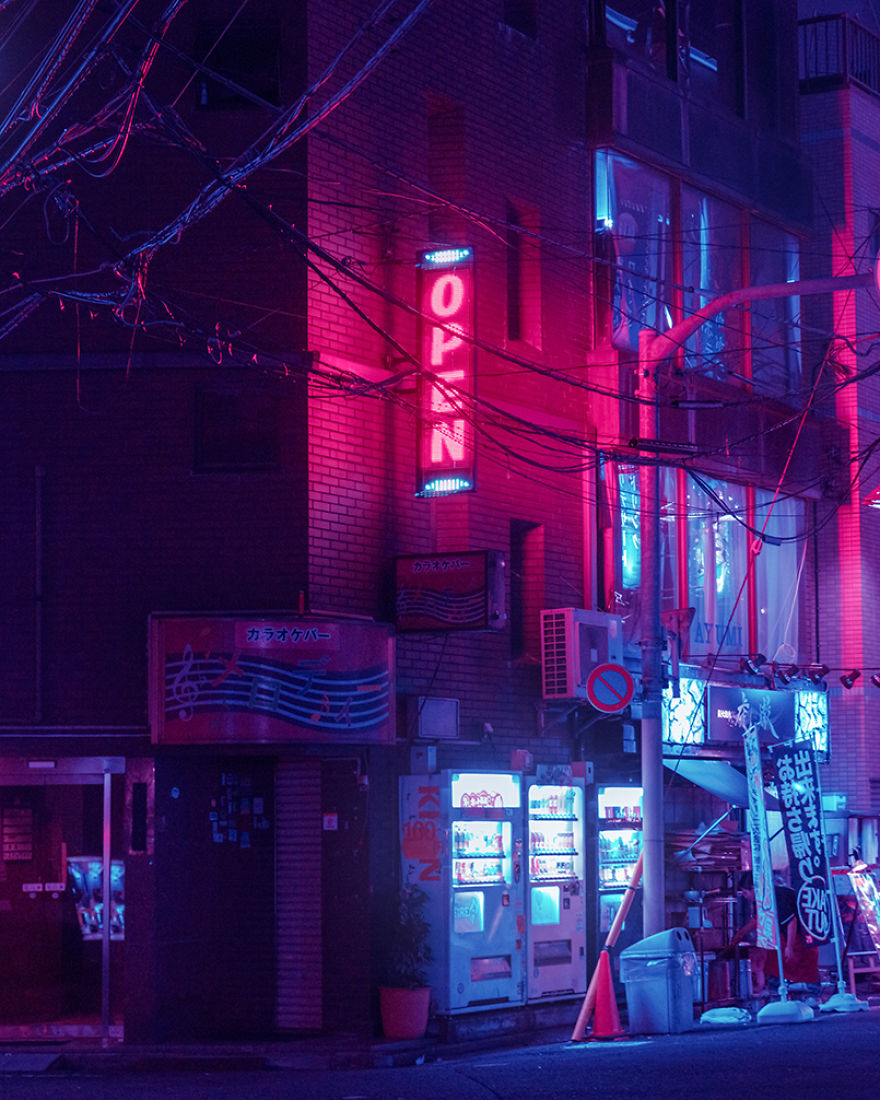 25 Photos From My Trip In The Surreal Tokyo At Night