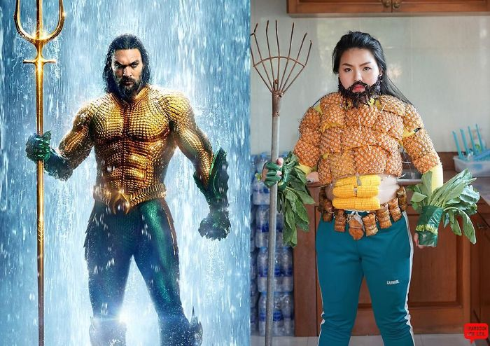 Thai Girl Keeps Doing Cosplay With Food And The Result Is Even More Fun