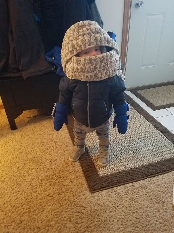 Going To Daycare When It's -30 Outside