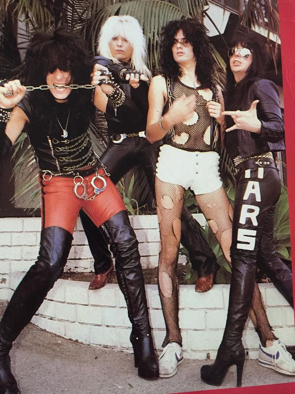 Young And Broke Motley Crue 1980