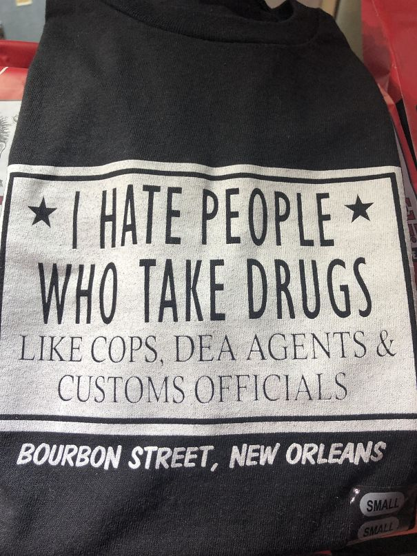 Found In One Of Many T-Shirt Shops In New Orleans