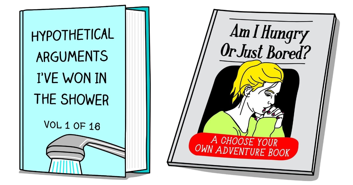 "30 Hilariously Honest ""Story Of My Life"" Book Covers"
