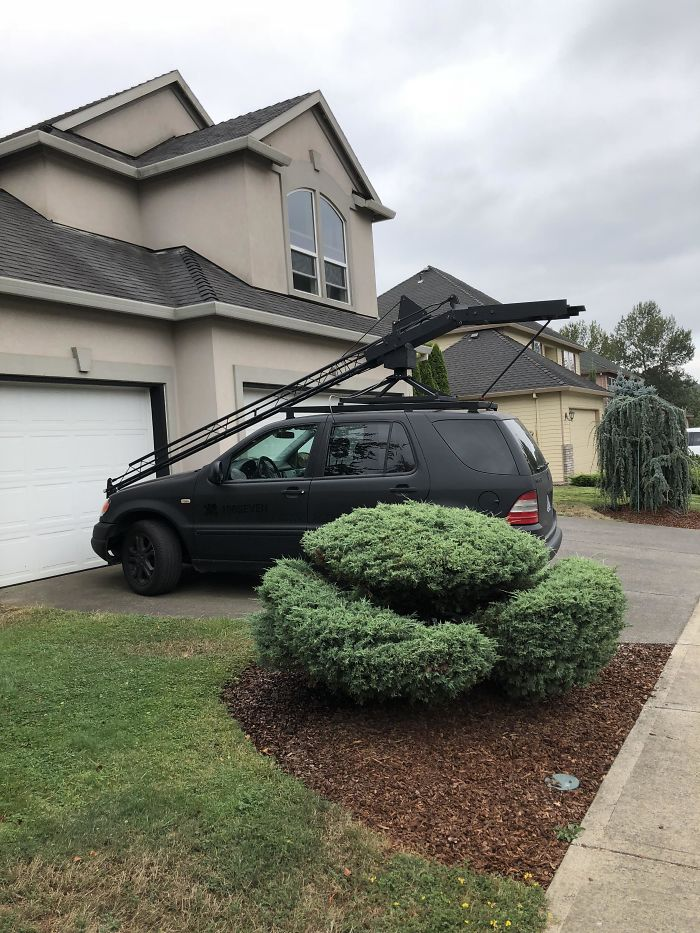 I Drive By This Every Day, What Is On Top Of This Car?
