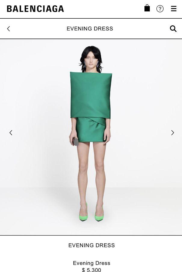 Balenciagas New $5300 Dress