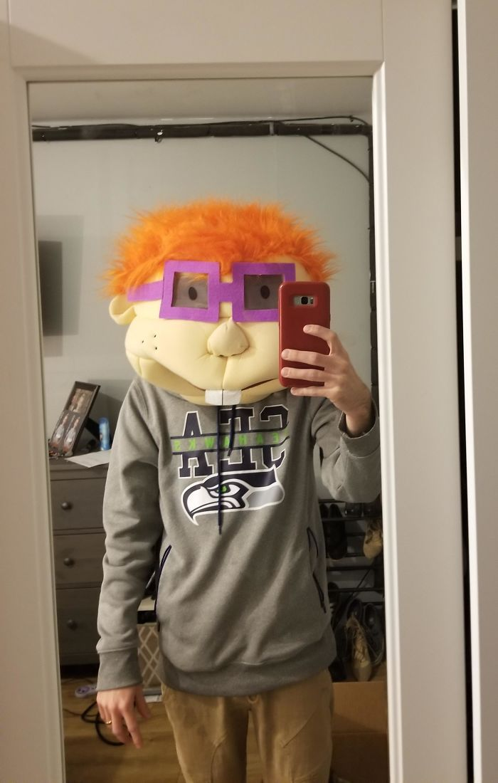 Asked My Wife To Look For A Chucky Mask So I Could Scare The Kids. She's Too Innocent