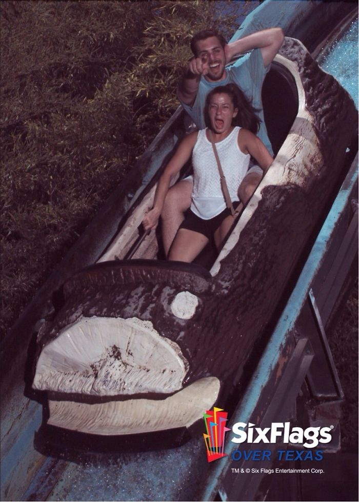My Wife Hates Roller Coasters. After I Pitched A Fit About It, She Finally Picked One She Would Ride With Me