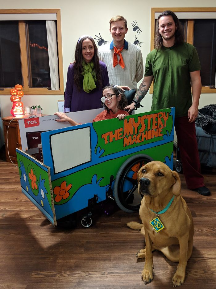 My Wife Was In An Accident About 2 Months Ago Resulting In A Severe Brain Injury. We Thought We'd Make The Most Of The Situation. Zoinks!
