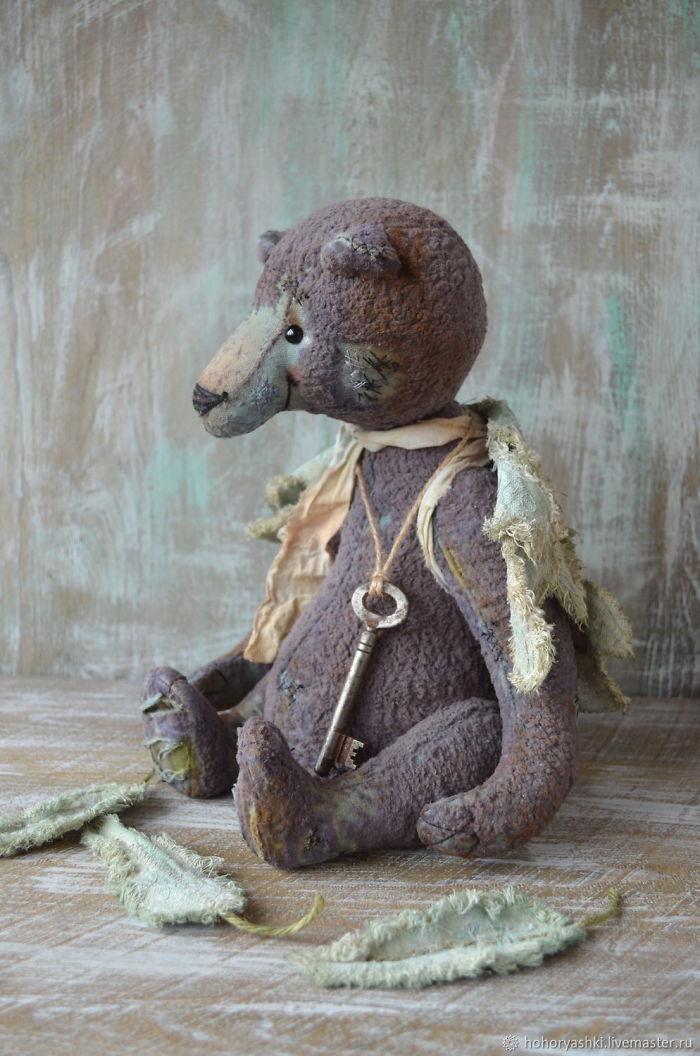 Strong Personality Of Lovely Little Ones: Teddy Toys By Svetlana Makarova