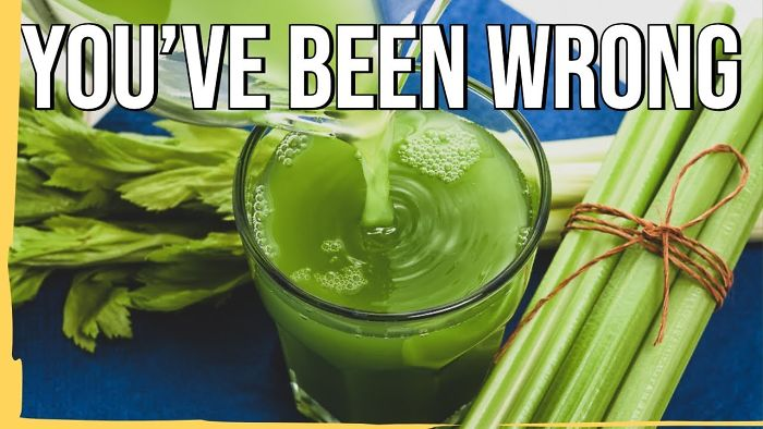 This Is How You Should Actually Make Celery Juice