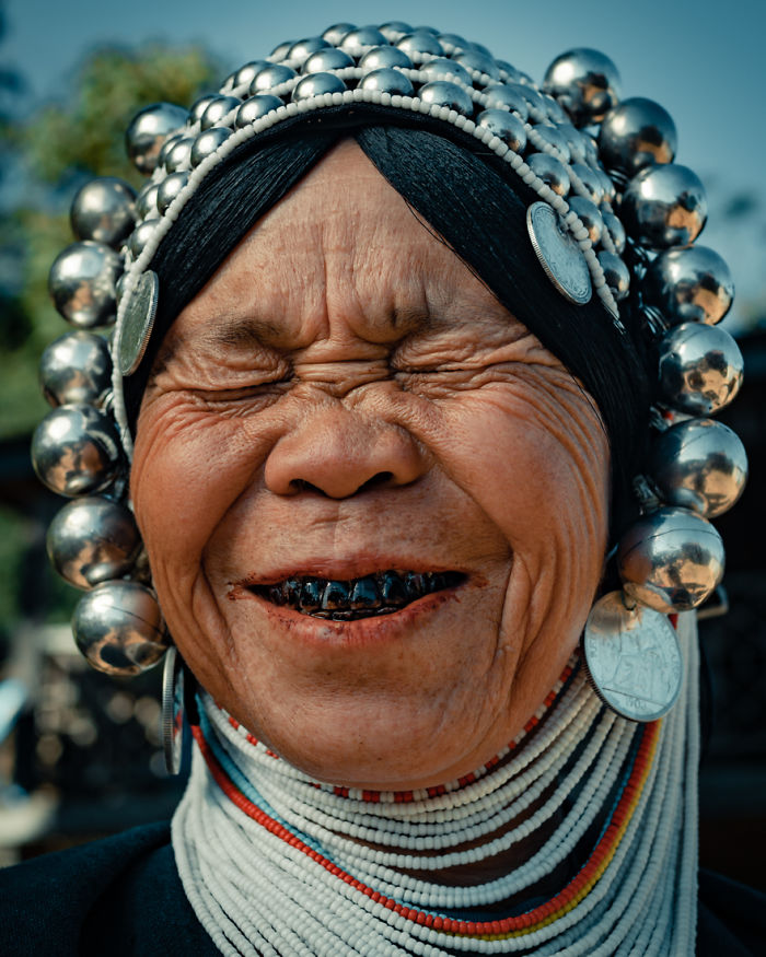I Documented The Fashion Style Of The Akha Tribe
