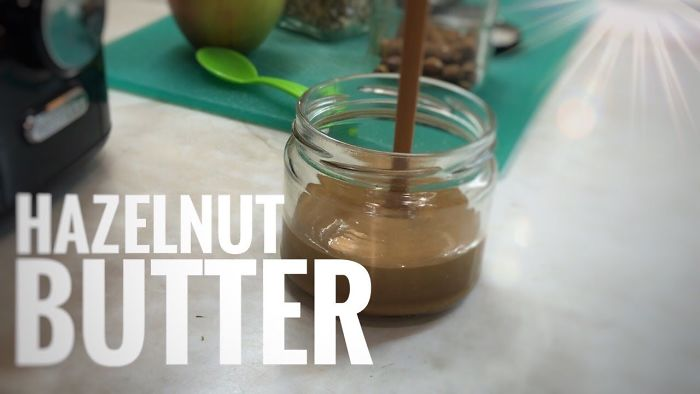 Hazelnut Butter – One Ingredient Only
