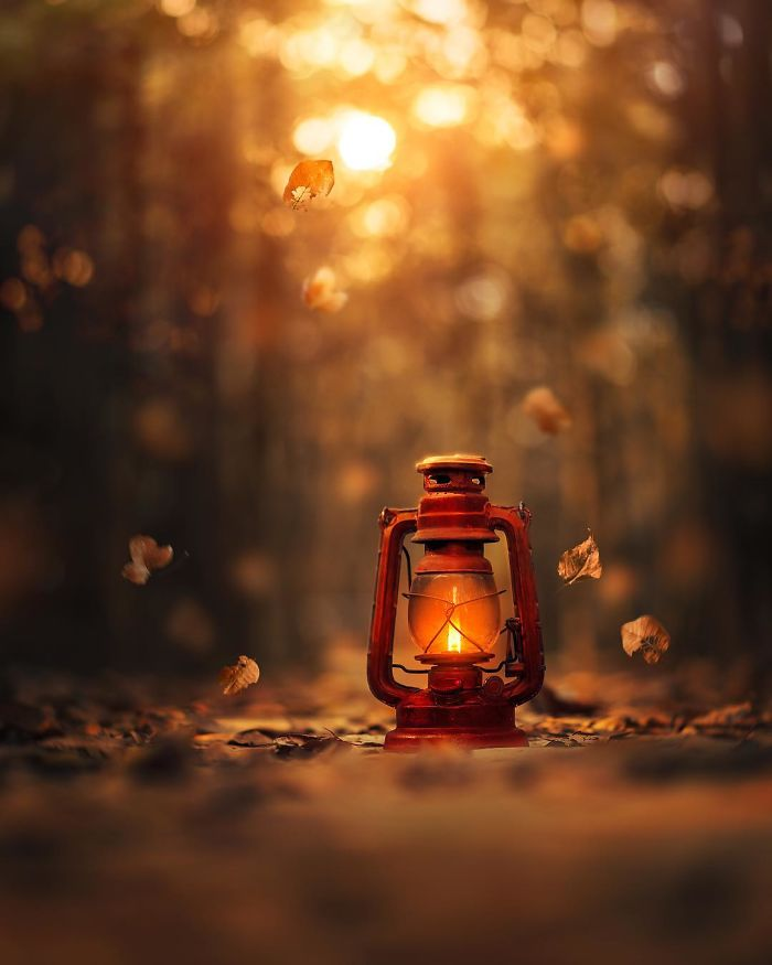 I Create Magical Images With My Old Lantern